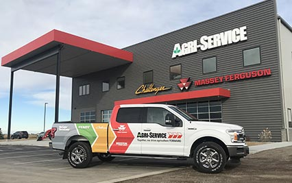 Agri-Service Location and Truck